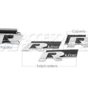 Set de emblemas R Line, R-Line