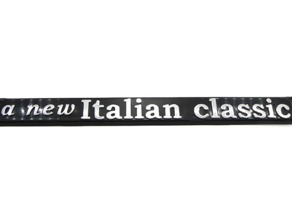 SET DE 2 MARCOS PORTA PLACAS FIAT, A NEW ITALIAN CLASSIC